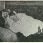 Avraham Rynecki on his deathbed.  Photo Courtesy of the Thomas Fisher Rare Book Library, University of Toronto