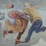Ice Skaters, no date