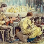 two-production-workers-painting-toys-no-date
